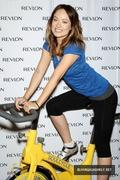 Olivia wilde April 5TH - SoulCycle Charity Event with Revlon