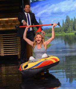 Cameron Diaz The Tonight Show Starring Jimmy Fallon 07-15-2014