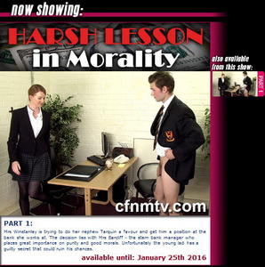cfnmtv: Harsh Lesson in Morality (Part 1)