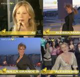 Alessia Marcuzzi (Italian) @ Esclusivo : 24.12.2007 (cleavage) -video